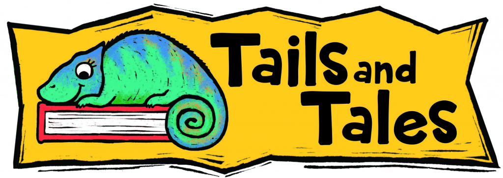 image of Tails and Tales summer reading banner