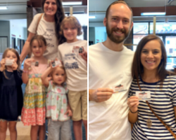 New library cardholders!